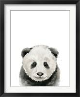 Framed Baby Panda