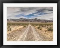 Framed Nevada Road