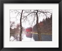 Framed Old Grist Mill