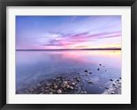 Framed Ocean Lake