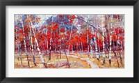 Framed Autumn Joy