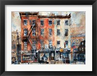 Framed Fellow Barbers, 3 Horatio Street