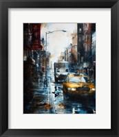 Framed 39 Mott Street, rain