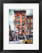 Framed Waverly Diner, NYC