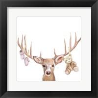 Framed Deer Baby girl