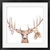Framed Deer Baby girl