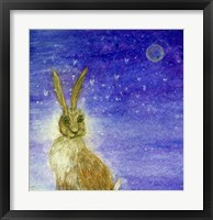 Framed Hare And The Moon