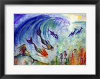 Framed Magical Mermaids