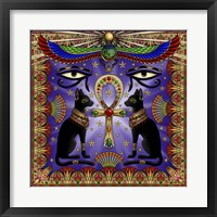 Framed Egyptian Cats