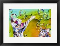 Framed Double Bubble