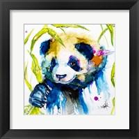 Framed Bamboo Anda Panda