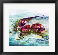 Framed Water Otter