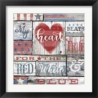 Framed My Patriotic Heart