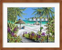 Framed Tropical Escape
