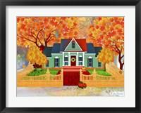 Framed Autumn House