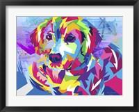 Framed Digital Dog