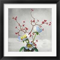 Framed Vase Flower