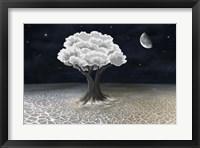 Framed Moon Tree