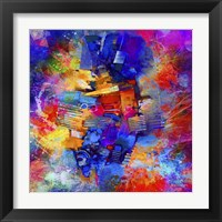 Framed Sea Of Colors 2