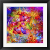 Framed Sea Of Colors 3