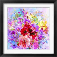 Framed Flowers And Colors 3