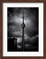Framed CN Tower Toronto Canada No 6