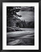 Framed Gullwing Lake No 4