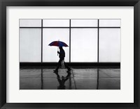 Framed It Was A Rainy Day No 5