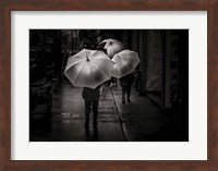 Framed It Was A Rainy Day No 13