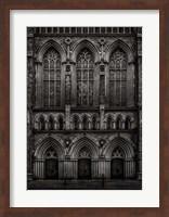 Framed St Pauls Bloor Street No 2