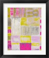 Framed Pink Plaid