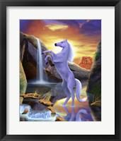 Framed Desert Horse