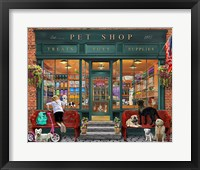 Framed Pet Shop