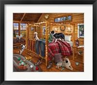 Framed Cabin Mischief