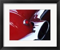 Framed 1959 Corvette Rear Light