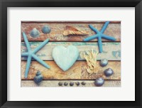 Framed Beach Memories I