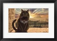 Framed Egyptian Cat
