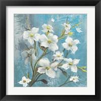 Framed Jasmine Bloom 1