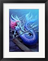 Framed Mermaid Aphrodite
