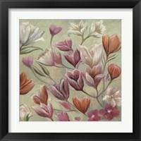 Framed Pastel Bloom 1