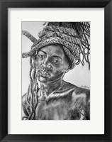 Framed African