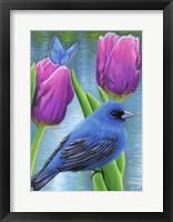 Framed Blue Spring
