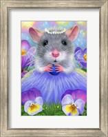 Framed Little Spring Fairy
