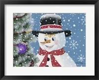 Framed Christmas Visitor
