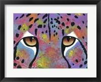 Framed Cheetah Eyes