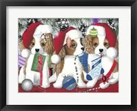 Framed Little Christmas Rascals