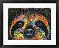 Framed Slothy Eyes