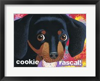 Framed Cookie Rascal