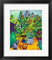 Framed Los Gatos Garden