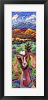 Framed Mountain High Goat